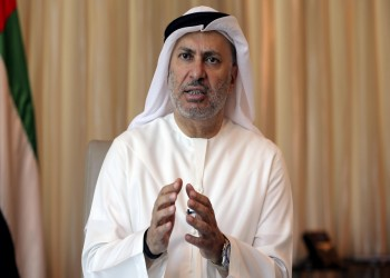 قرقاش: الإمارات تقف مع السعودية في دعوتها لحوار يمني