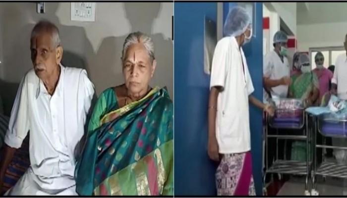 هندية تلد توأما بعمر الـ74 بعد سنوات من العقم