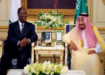 مباحثات اقتصادية تجمع الملك سلمان والرئيس الإيفواري بجدة