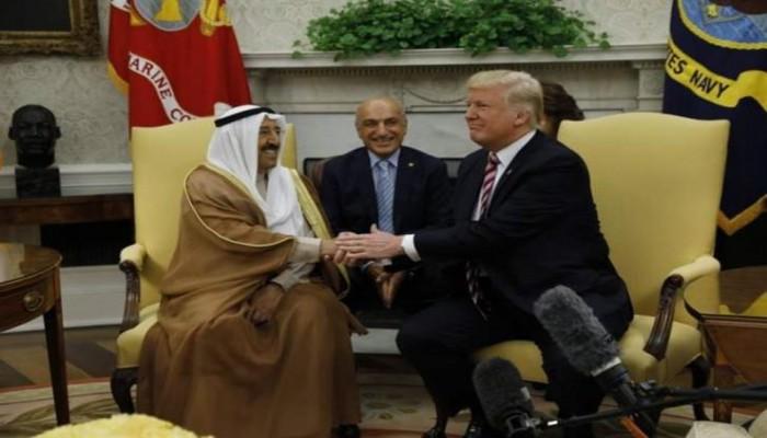 ترامب يتطلع لاستقبال أمير الكويت في واشنطن بمجرد شفائه