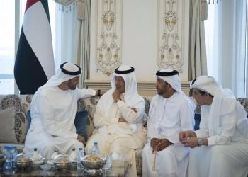 ولي عهد أبوظبي يستقبل وزير الطاقة السعودي