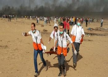 إصابة 45 مسعفا و30 صحفيا برصاص إسرائيل خلال 6 أشهر