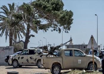 الوفاق الليبية تعلن سيطرتها على مخزن ذخيرة جنوبي طرابلس