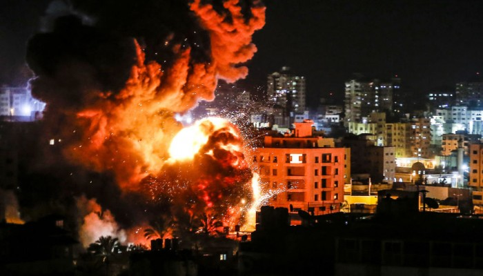 غارات إسرائيلية على مواقع للمقاومة بغزة دون إصابات