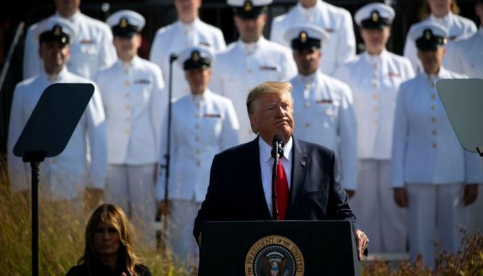 ترامب يعلن رفع ميزانية الدفاع في الذكرى 18 لهجمات 11 سبتمبر
