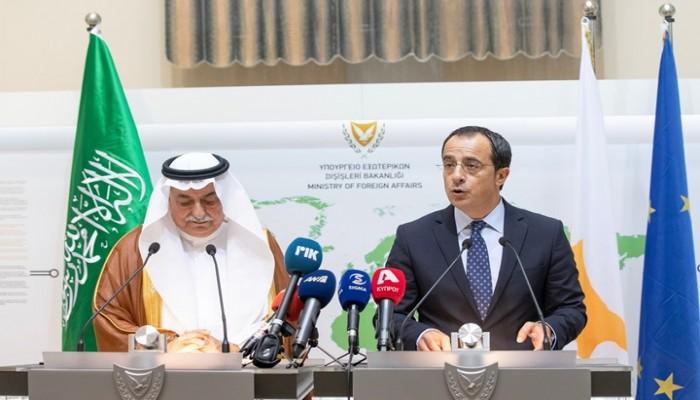 السعودية: ندعم حليفتنا قبرص ضد أنشطة تركيا بالمتوسط