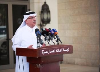 العمادي: الدعم القطري لغزة مستمر.. وتصريحاتي نقلت خطأ