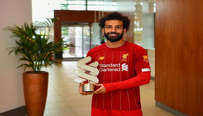 صلاح يفوز بجائزة لاعب الشهر في ليفربول