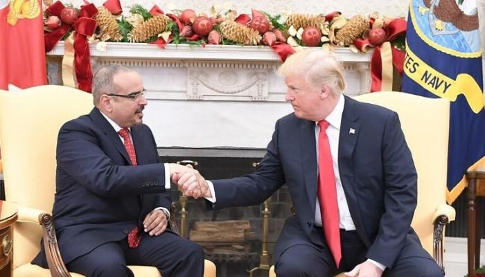 ترامب يستقبل ولي عهد البحرين الإثنين المقبل