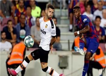 برشلونة يقسو على فالنسيا بخماسية في الدوري الإسباني
