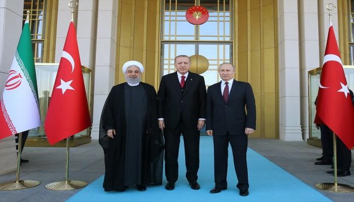 زعماء تركيا وروسيا وإيران يتأهبون لمعالجة اضطرابات إدلب السورية