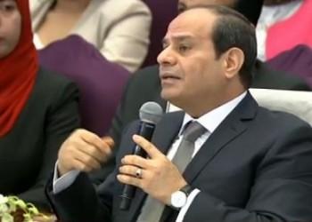 مسؤول مصري يدعم السيسي بالبكاء لرفع معنوياته