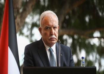 وزير خارجية فلسطين يطلع نظيره التركي على تطورات القضية الفلسطينية