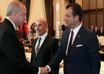 أردوغان يمازح إمام أوغلو باجتماع رؤساء البلديات.. ماذا قال؟