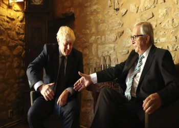 فشل اجتماع جونسون مع الاتحاد الأوروبي بشأن بريكست