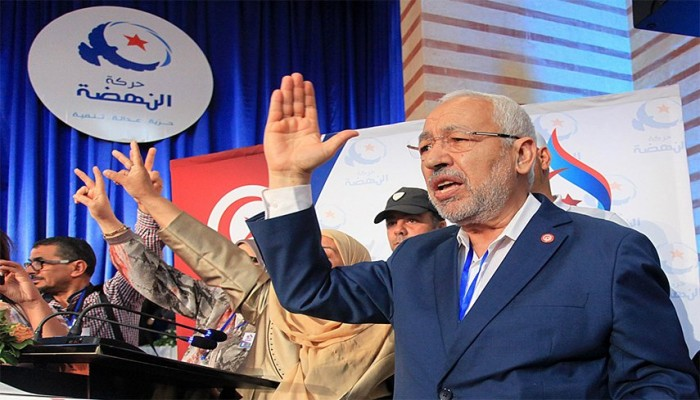 """تونس.. """"النهضة"""" تهنئ سعيد والقروي وتتغنى بأجواء الانتخابات"""