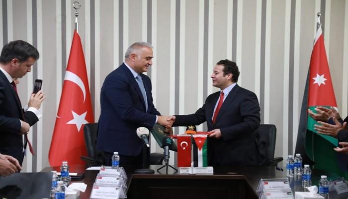 الأردن وتركيا يوقعان اتفاقية عام التبادل الثقافي 2020