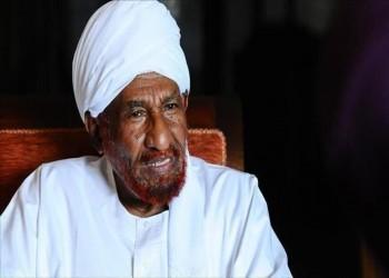 استقالة الصادق المهدي من رئاسة تحالف نداء السودان