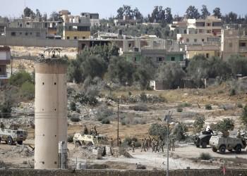 مقتل مجند مصري في سيناء برصاص قناصة مجهولين