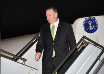 بومبيو يغادر السعودية متجها إلى أبوظبي