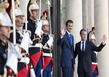 وزير خارجية قطر يشيد بعلاقات بلاده مع فرنسا