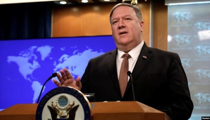 بومبيو: لا دليل على قدوم صواريخ أرامكو من العراق