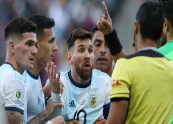 الاتحاد الأرجنتيني يتحرك ضد قرار إيقاف ميسي لمدة 3 أشهر