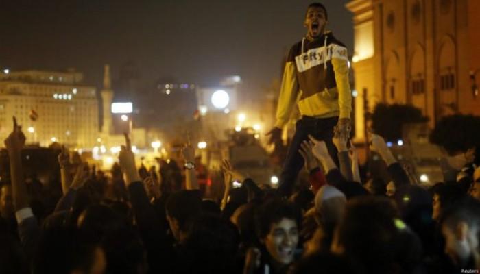 """""""ميدان التحرير"""" يتصدر تويتر خلال دقائق ويطالب برحيل السيسي"""
