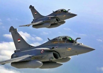 دراسة فرنسية: مصر استخدمت مقاتلات رافال في دعم حفتر