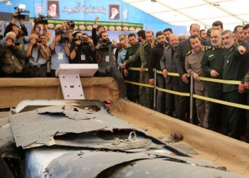 عرض إيراني لـ11 درون أمريكية وإسرائيلية وبريطانية أسقطتها سابقا