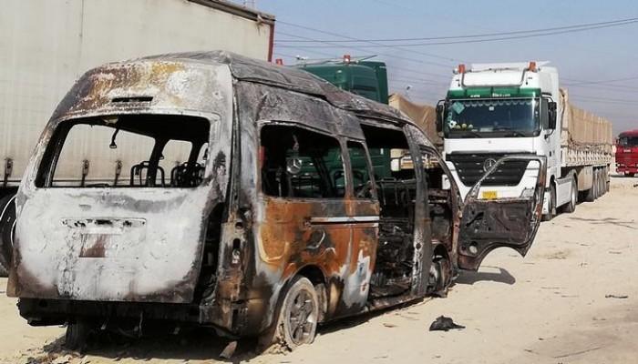 الدولة الإسلامية يتبنى تفجير حافلة في كربلاء بالعراق