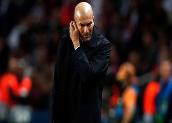 زيدان يرد على إمكانية إقالته من تدريب ريال مدريد