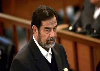رغد صدام حسين تنشر فيديو لوالدها أثناء زيارته طفلة بمستشفى