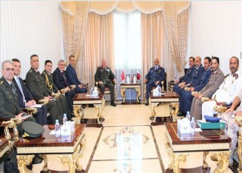 رئيسا أركان تركيا وقطر يبحثان تعزيز التعاون العسكري