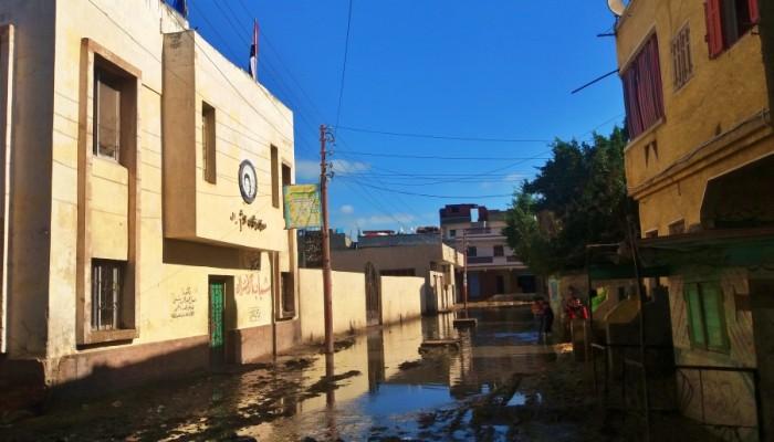 الحكومة المصرية تعترف: ثلثا سكان الريف بدون صرف صحي