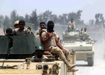 الأمن المصري يعلن تصفية 15 شخصا غربي العريش