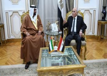أبرز قيادات المجلس العسكري المصري يلتقي وزير دفاع الإمارات بأبوظبي