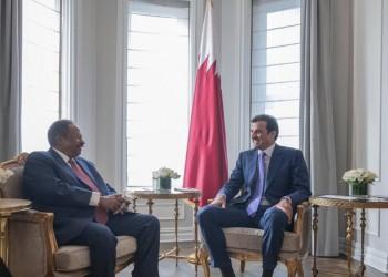 أمير قطر يستقبل رئيس وزراء السودان في نيويورك