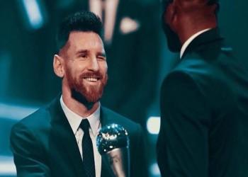 متفوقا على فان دايك ورونالدو.. ميسي أفضل لاعب في العالم 2019