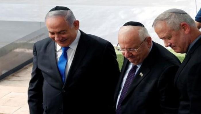 محادثات لتشكيل حكومة وحدة إسرائيلية وتناوب رئاسة الوزراء