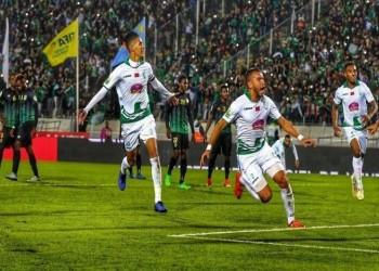 الرجاء المغربي يحتفي بمنافسه هلال القدس في البطولة العربية