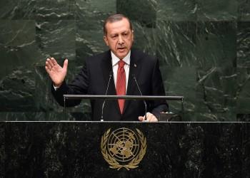 أردوغان يثير قضيتي خاشقجي ومرسي بالأمم المتحدة