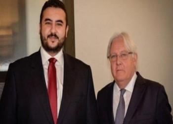 خالد بن سلمان وغريفيث يناقشان تثبيت التهدئة وتنفيذ اتفاق الحديدة