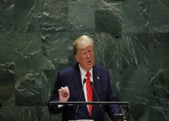 ترامب يطالب الدول العربية بتطبيع العلاقات مع إسرائيل