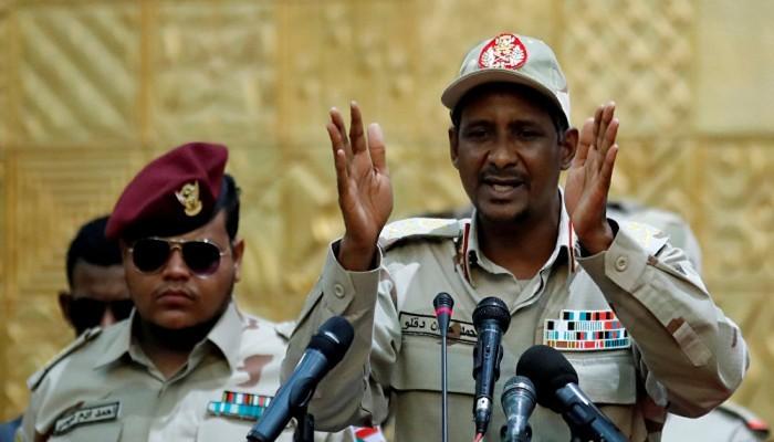 دعم إماراتي لحميدتي لبناء حزب سياسي في السودان