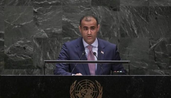 سكاي نيوز تقطع بث كلمة وزير يمني في الأمم المتحدة.. ماذا قال؟