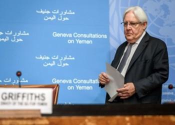المبعوث الأممي إلى اليمن التقى وفدا حوثيا في مسقط