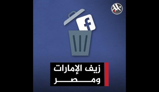 فيسبوك تحارب زيف الإمارات ومصر