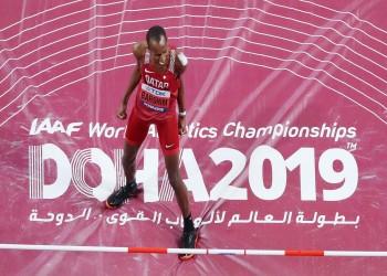 برشم يهدي قطر ذهبية الوثب العالي بمونديال أم الألعاب