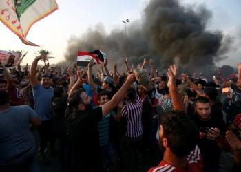 عراقيون يحرقون مكاتب منظمات موالية لإيران بالناصرية